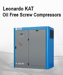 LEONARDO KAT - Oil Free Screw Compressors - Catalytic Converter Fixed Speed